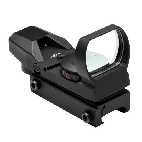NcStar Red & Green Dot 4 Reticle Reflex Sight, Black  D4RGB
