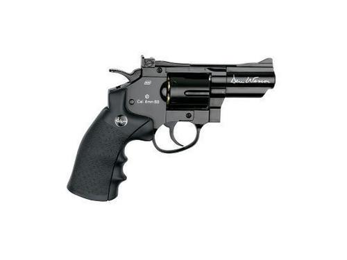"""ASG Dan Wesson 2.5"""" CO2 Non-Blowback Revolver, Black     50045"""