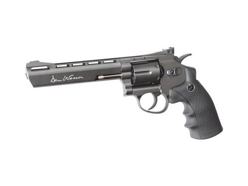 """ASG Dan Wesson 6"""" CO2 Non-Blowback Revolver, Grey     50065"""