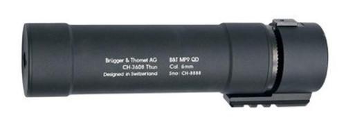 ASG B&T MP9 QD Barrel Extension, Black   17260