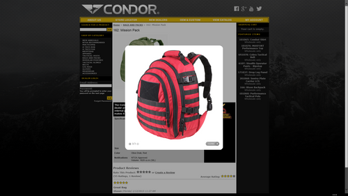 Condor Mission Pack  162 (DISCONTINUED)