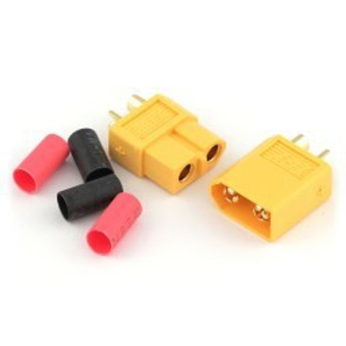 Gate XT-60 Connectors, Pair (yellow)