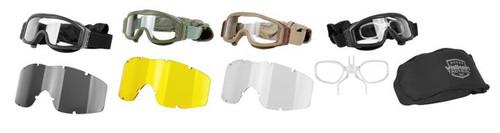 Valken Tactical Tango Single Lens Goggle (3 lens & bag)