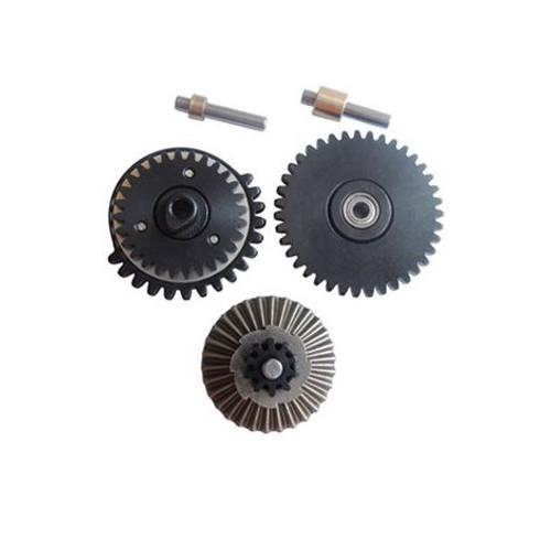 SB 13:1 CNC Machined Gear Set w/ Shaft  ZCCL-20