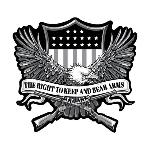Right To Bear Arms Lethal Threat Patch