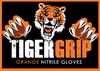 Tigergrip- Orange Nitrile Gloves (Box 100)