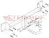Tow Bar for Volvo S90 Estate 2016 to present