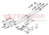 Tow Bar for Volvo XC60 SUV 2008 to 2017