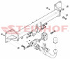 Detachable Tow Bar for Volvo XC90 II fits 2015 to present