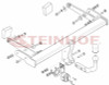 Tow Bar for Audi A4 Avant 2015 to present