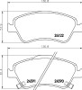 Front Brake Pads & Discs for Toyota Auris 2009 to 2012