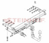Tow Bar for Jeep Grand Cherokee (WK)  2013 to Present