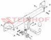 Tow Bar for Volvo XC90 - 2003 to 2015