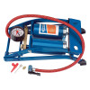 Foot Pump-Double Cylinder-With Pressure Gauge-Draper