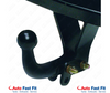 Tow Bar for Volkswagen Caddy 2021 on model