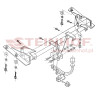 Tow Bar for Volkswagen Caddy Van 2004 to present