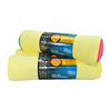 Assorted Roll of Microfibre Cloths - 6 Pack