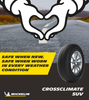 235 55 19 105W  Michelin CrossClimate SUV XL