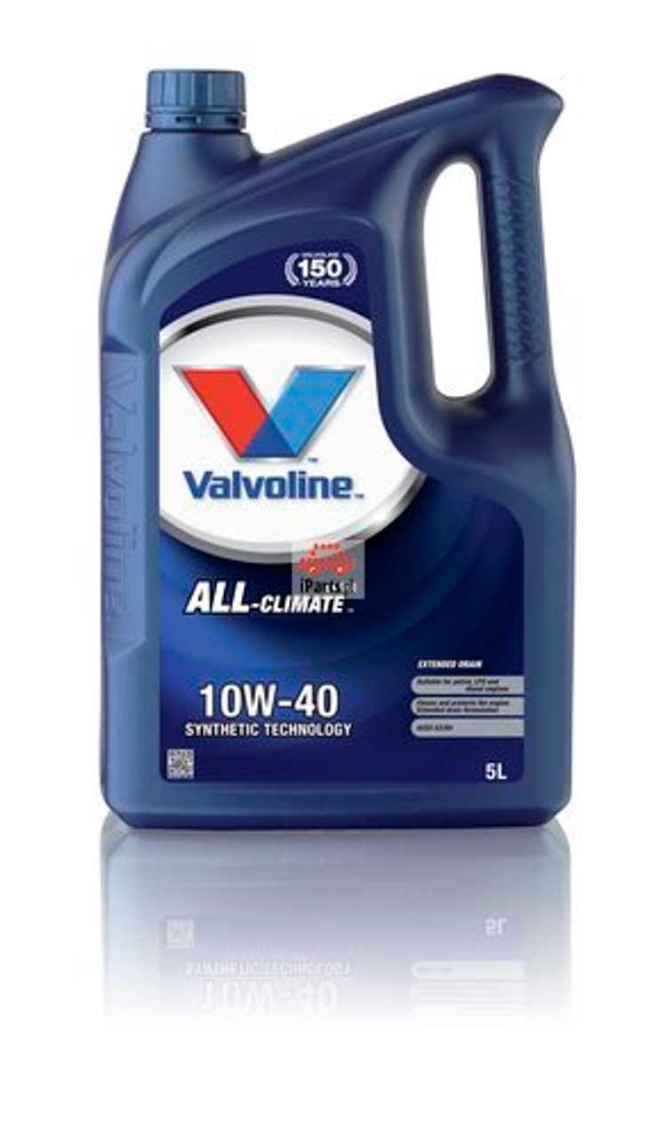 VALVOLINE ENGINE OIL ALL-CLIMATE EXTRA 10W-40 - 5 Ltr