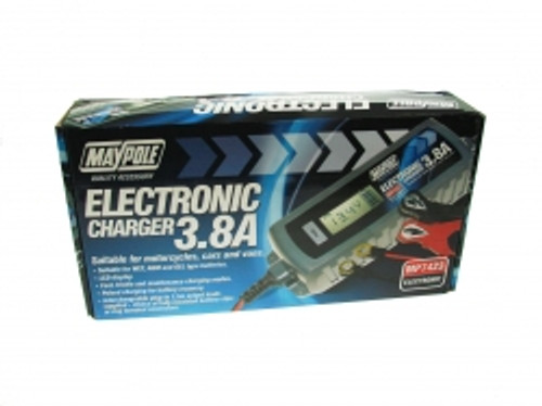 Maypole Auto Electronic Charger 3.8A 12v MP7423