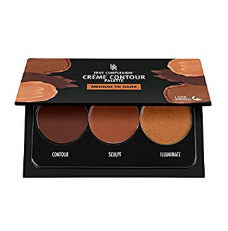 Black Radiance True Complexion Creme Contour Palette Medium To Dark