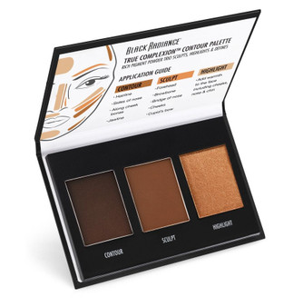 Black Radiance True Complexion Contour Palette Dark to Deep