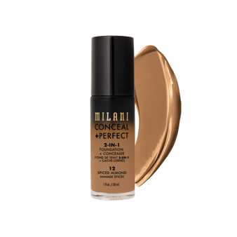 Milani  Conceal + Perfect 2 in 1 Foundation - 12 Spiced Almond
