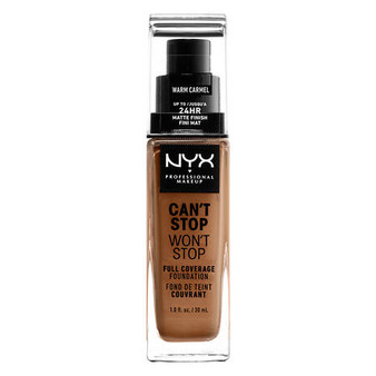 NYX Can't Stop Won't Stop Foundation - 15.7 Warm Caramel