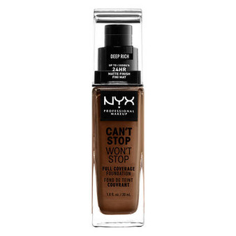 NYX Can't Stop Won't Stop Foundation - Deep Rich
