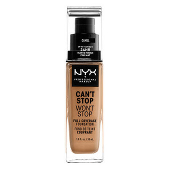 NYX Can't Stop Won't Stop Foundation - Camel