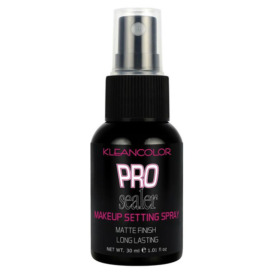Kleancolor Pro Sealer Makeup Setting Spray Matte Finish