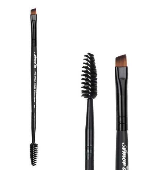 Amor Us Professional Brow/Liner Brush and Spooly #920