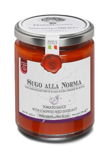 Tomato Sauce with Chopped Fried Eggplant