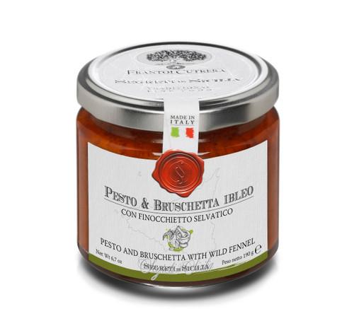 Pesto & Brushcetta Ibleo with Wild Fennel