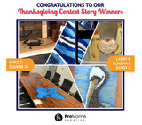 Congrats to Our Thanksgiving Contest Winners! December Contest Reminder