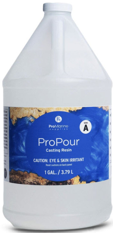 Pro Pour Resin Only 128 oz ( for 3 Gal Kit ) - 1 gallon