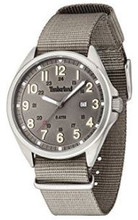 Timberland Raynham Men's Gents Analog Quartz Watch with Date and Grey Fabric/Canvas Strap - TBL 14829JS-13