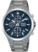 Pulsar Men's Chronograph Watch with Titanium Bracelet PM3109X1