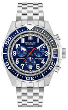 Swiss Military Hanowa Touchdown Chrono Chronograph Quartz Watch with Stainless Steel Bracelet 06-5304.04.003