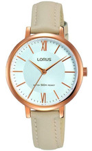 Lorus Women's Analogue Quartz Watch with Leather Strap RG264LX8