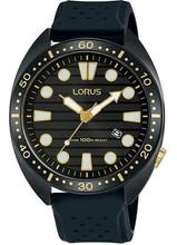 Lorus Men's Analogue Quartz Watch with Silicon Strap RH927LX9