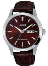 Lorus Men's Analogue Quartz Watch with Leather Strap RXN31DX9