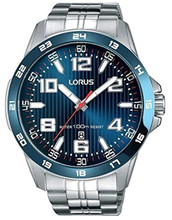 Lorus Men's Analogue Watch with Date & Stainless Steel Bracelet RH901GX9