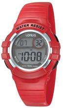 Lorus Children's Kids Digital Watch with Resin Strap R2399HX9