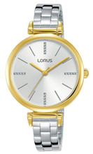 Lorus Women's Analogue Watch with Stainless Steel Bracelet & Silver Dial RG236QX9