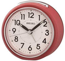 Seiko Bedside Alarm Clock | QHE125R | Amber Trading UK