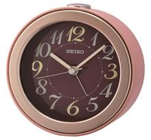 Seiko Bedside Alarm Clock | QHE172P | Amber Trading UK