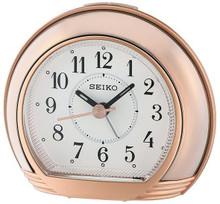 Seiko Bedside Alarm Clock   QHE178P   Amber Trading UK