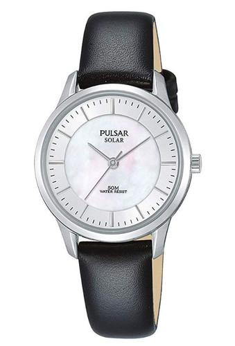 Pulsar Ladies Analog Solar Dress Watch - PY5043X1