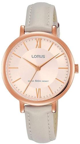 Lorus Women's Analogue Quartz Watch with Leather Strap RG264MX9